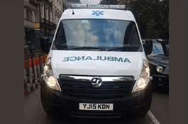 Harley Street Ambulance - Front On